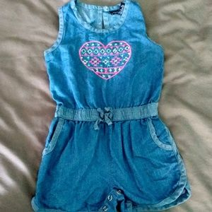 Girls limited too jumpsuit/ romper